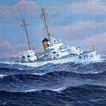U. S. Coast Guard Cutter Owasco by William H RaVell III