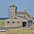 U S Lifesaving Station by Stephen Stookey