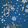 Ucla Bruins Christmas Card by Joe Hamilton