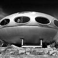 Futuro House Ufo by Noel Baebler