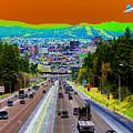 Ufo Over Spokane by Ben Upham III