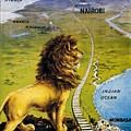 Uganda Railway - British East Africa - Retro Travel Poster - Vintage Poster by Studio Grafiikka