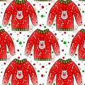 Ugly Christmas Sweater Pattern by Kathleen Sartoris