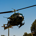 Uh-1 Huey Arrival by Tommy Anderson