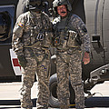 Uh-60 Black Hawk Crew Chiefs by Terry Moore