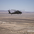 Uh-60 Black Hawk En Route To New Mexico by Terry Moore