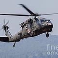 Uh-60a Black Hawk Medevac Helicopter by Timm Ziegenthaler