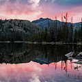 Uinta Sunrise Reflection by Johnny Adolphson