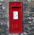 Uk Post Box by Frederick Holiday