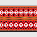 Ukrainian Embroidery Horizontal by Yuri Lev