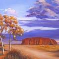 Uluru  - Ayers Rock by Robynne Hardison