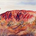 Uluru, Central Australia, by Ryn Shell