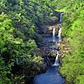 Umauma Falls Hawaii by Daniel Hagerman