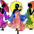 Umbrella Strut by Marcella Muhammad