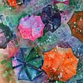 Umbrellas by Zaira Dzhaubaeva