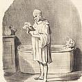 Un Jour De Grande Toilette by Honor? Daumier