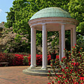 Unc-ch Old Well In The Spring by Jill Lang