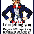 Uncle Sam -- I Am Telling You by War Is Hell Store