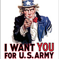 Uncle Sam -- I Want You by War Is Hell Store