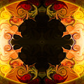 Undecided Bliss Abstract Healing Artwork By Omaste Witkowski by Omaste Witkowski