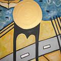Under Brooklyn Bridge Ny by Krisztina Asztalos