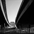 Under Interstate 5 Sacramento by Lee Santa