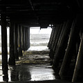 Under Santa Monica Pier by Clayton Bruster
