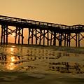 Under The Boardwalk 3 by Tom Rickborn