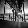 Under The Boardwalk Bw 1 by Michael Damiani