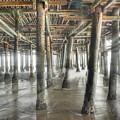 Under The Boardwalk Into The Light by David Zanzinger