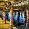 Under The Boardwalk by Pat Cook