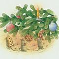 Under The  Christmas Tree by Kestutis Kasparavicius