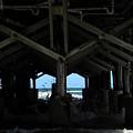 Under The Daytona Beach Pier 002 by Chris Mercer