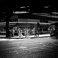 Under The Elevated Railway Chicago Illinois 1940  by John Vachon Presented by Joy of Life Art