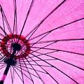 Under The Pink Umbrella by Jenny Berg