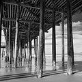 Under The Pismo Pier by Art Wager