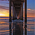 Under The Scripps Pier by Sam Antonio Photography