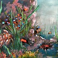 Under The Sea Colors by Miroslaw  Chelchowski
