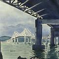 Under The Tappan Zee Bridge by Stephen Serina