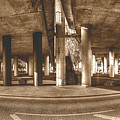 Under The Viaduct B Panoramic Urban View by Jacek Wojnarowski