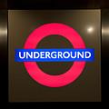 Underground Sign by Svetlana Sewell