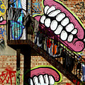 Underteeth The Stairs 2 by Jez C Self