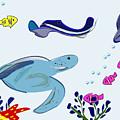 Underwater 2 by Helena M Langley