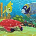 Underwater Sea Friends by Martin Davey