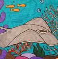 Underwater Stingray by Jill Christensen