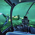Underwater Submarine Woman by Benny Marty
