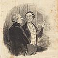 Une Maitresse A L'op?ra by Honor? Daumier