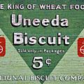 Uneeda Biscuit Vintage Sign by Stuart Litoff
