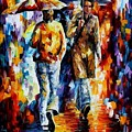 Unexpected Meeting by Leonid Afremov