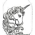 Unicorn Cameo by Katherine Nutt